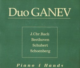Duo Ganevi - Piano 4 hands