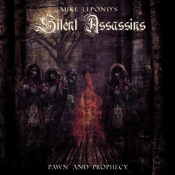 Mike Lepond's Silent Assassins – pap COVER