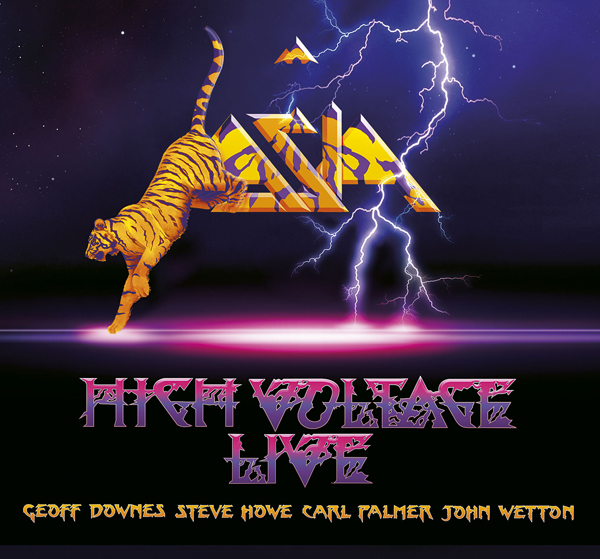 ASIA HIGH VOLTAGE LIVE COVER