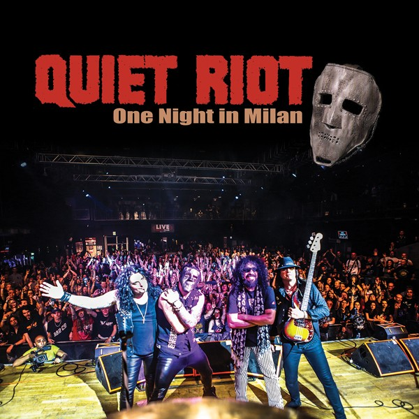 QUIET RIOT one night in milan COVER HI