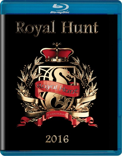 ROYAL HUNT 25A LIVE cover BR%UF021