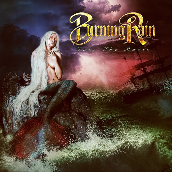 BURNING RAIN face the music COVER HI