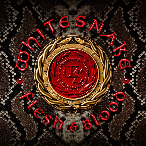 WHITESNAKE flesh&blood COVER HI