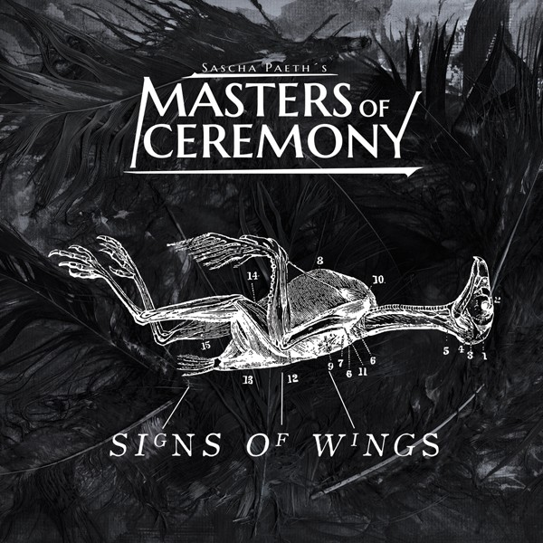 SASCHA PAETH S MASTER OF CEREMONY signs of wings COVER HI