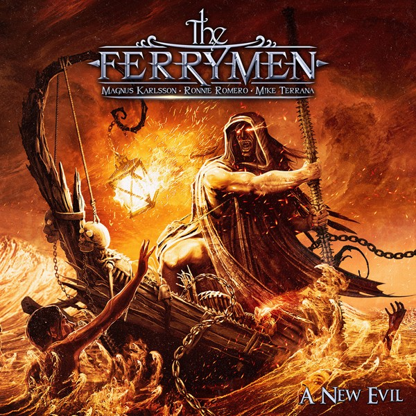THE FERRYMEN a new evil COVER lo