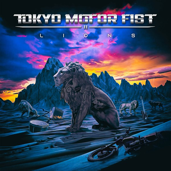 TOKYO MOTOR FIST lions COVER