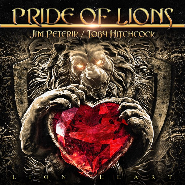PRIDE OF LIONS lionheart COVER