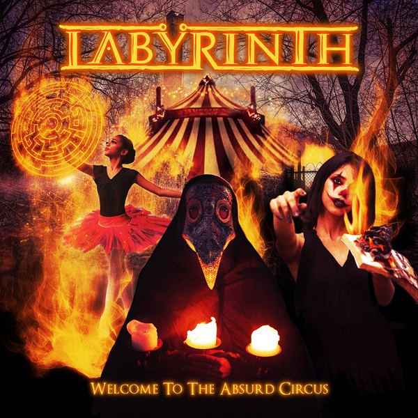 LABYRINTH welcome to the absurd circus COVER