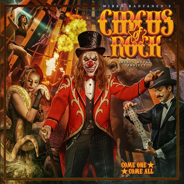 CIRCUS OF ROCK come on, come all COVER