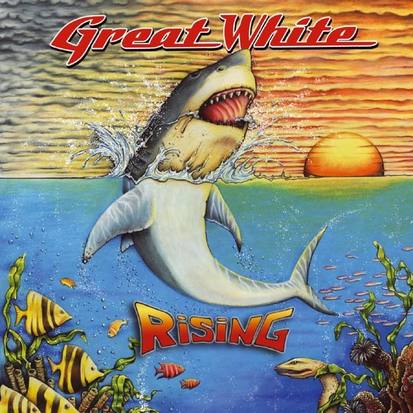 GREAT WHITE Ris Cover