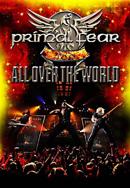 PRIMAL FEAR live DVD COVER