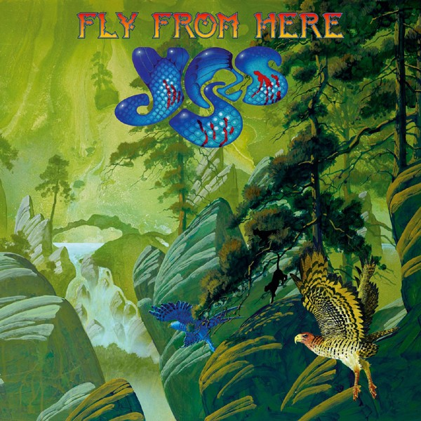 YES – FLY FROM HERE COVER