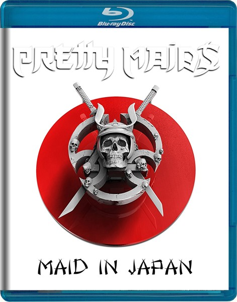 PRETTY MAIDS Maid in Japan BLU RAY COVERяАб