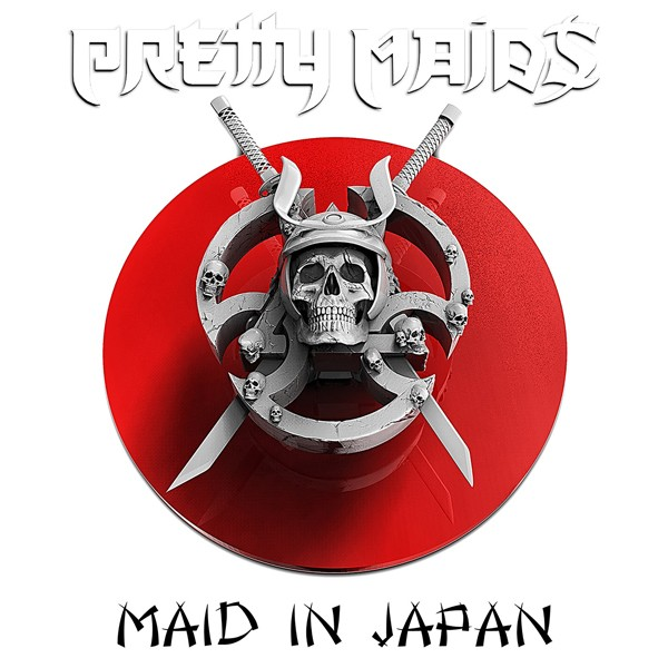 PRETTY MAIDS Maid in Japan COVER