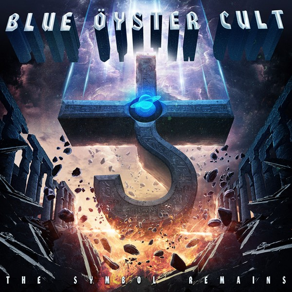 BLUE OYSTER CULT the symbol remains COVER