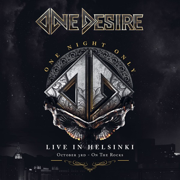ONE DESIRE one night only – live in helsinki CD