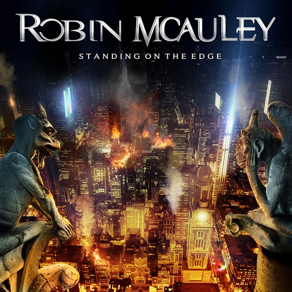 ROBIN MCAULEY standing on the edge COVER
